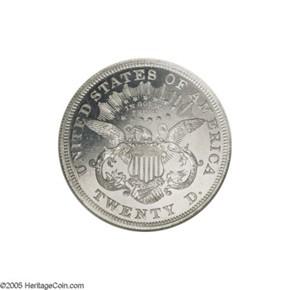 1874 J-1382 $20 PF reverse