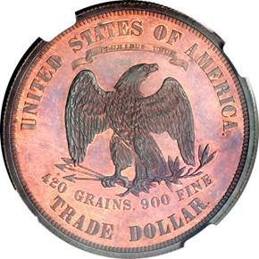 1875 J-1430 T$1 PF reverse