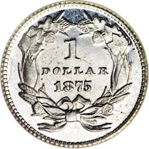 1875 J-1433 G$1 PF reverse