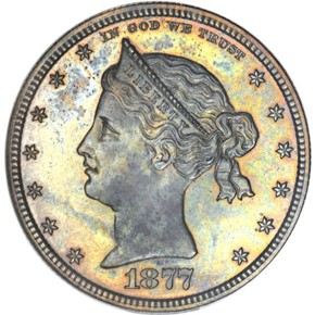 1877 J-1502 50C PF obverse
