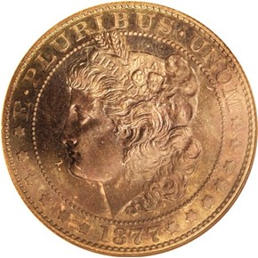 1877 J-1519 50C PF obverse