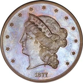 1877 J-1549 $50 PF obverse