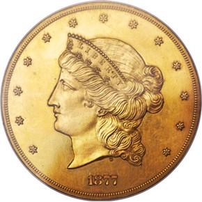 1877 J-1549 GILT $50 PF obverse