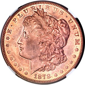 1878 J-1553 S$1 PF obverse