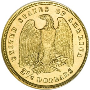 1878 J-1567 GILT $2.5 PF reverse