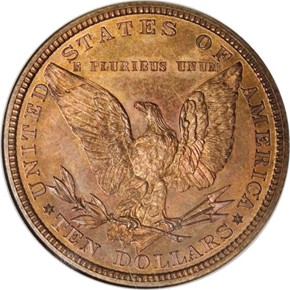1878 J-1580 $10 PF reverse
