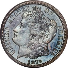 1879 J-1586 10C PF obverse