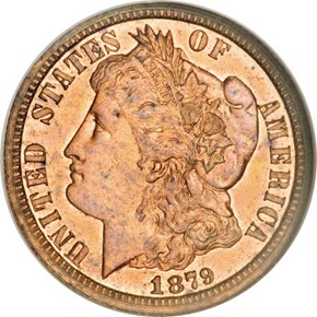 1879 J-1589 10C PF obverse