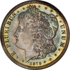 1879 J-1593 25C PF obverse