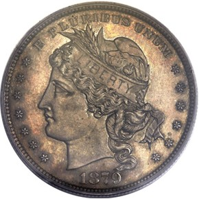 1879 J-1627 S$1 PF obverse