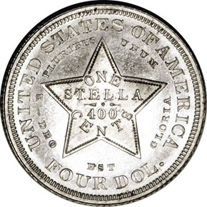 1879 J-1640 $4 PF reverse