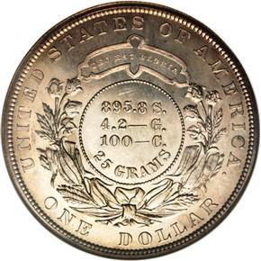 1880 J-1648 S$1 PF reverse