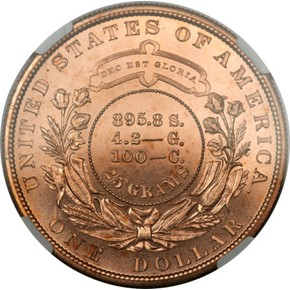 1880 J-1649 S$1 PF reverse