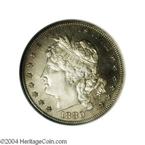 1880 J-1651 S$1 PF obverse