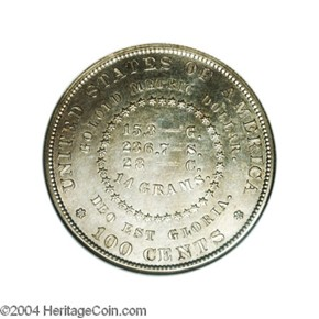 1880 J-1651 S$1 PF reverse