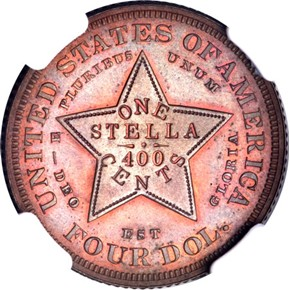 1880 J-1658 $4 PF reverse