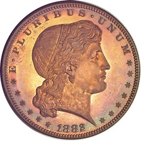 1882 J-1703 S$1 PF obverse