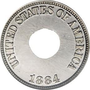 1884 J-1722 1C PF obverse