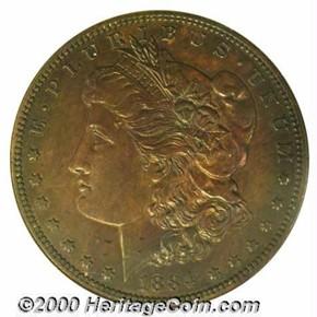 1884 J-1731 S$1 PF obverse