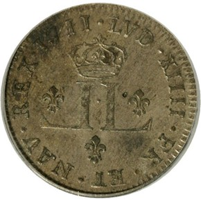 1711D FRENCH COLONIES 30D MS reverse