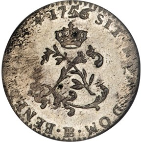 1742BB FRENCH COLONIES 1SM MS obverse