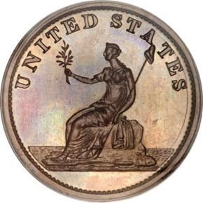 1783 GR EDGE COP RESTRK WASHINGTON & INDEPENDENCE reverse