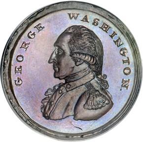 (1795) PLAIN BORDER LIBERTY & SECURITY 1P MS obverse