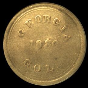 1830 TEMPLETON REID $10 MS obverse