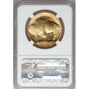 2012 BUFFALO .9999 FINE G$50 MS reverse