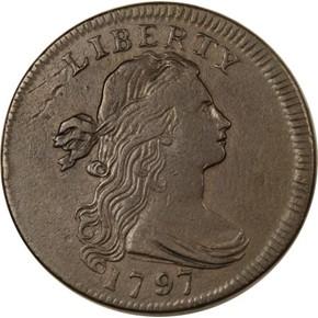 1797 PL EDGE REV OF 95 1C MS obverse