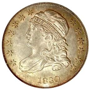 1830/29 10C MS obverse