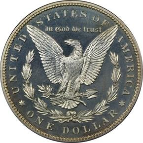 1897 $1 PF reverse