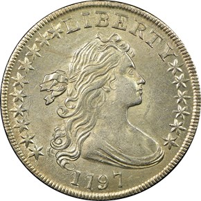 1797 S$1 MS obverse