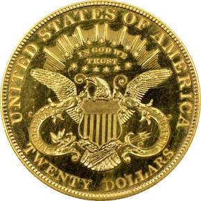 1906 $20 PF reverse