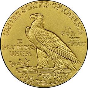 1914 $2.5 PF reverse