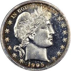 1905 50C PF obverse