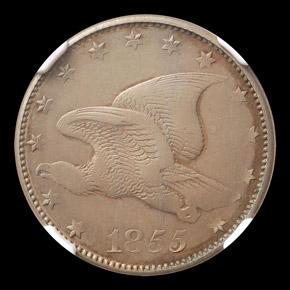 1855 J-171a 1C PF obverse