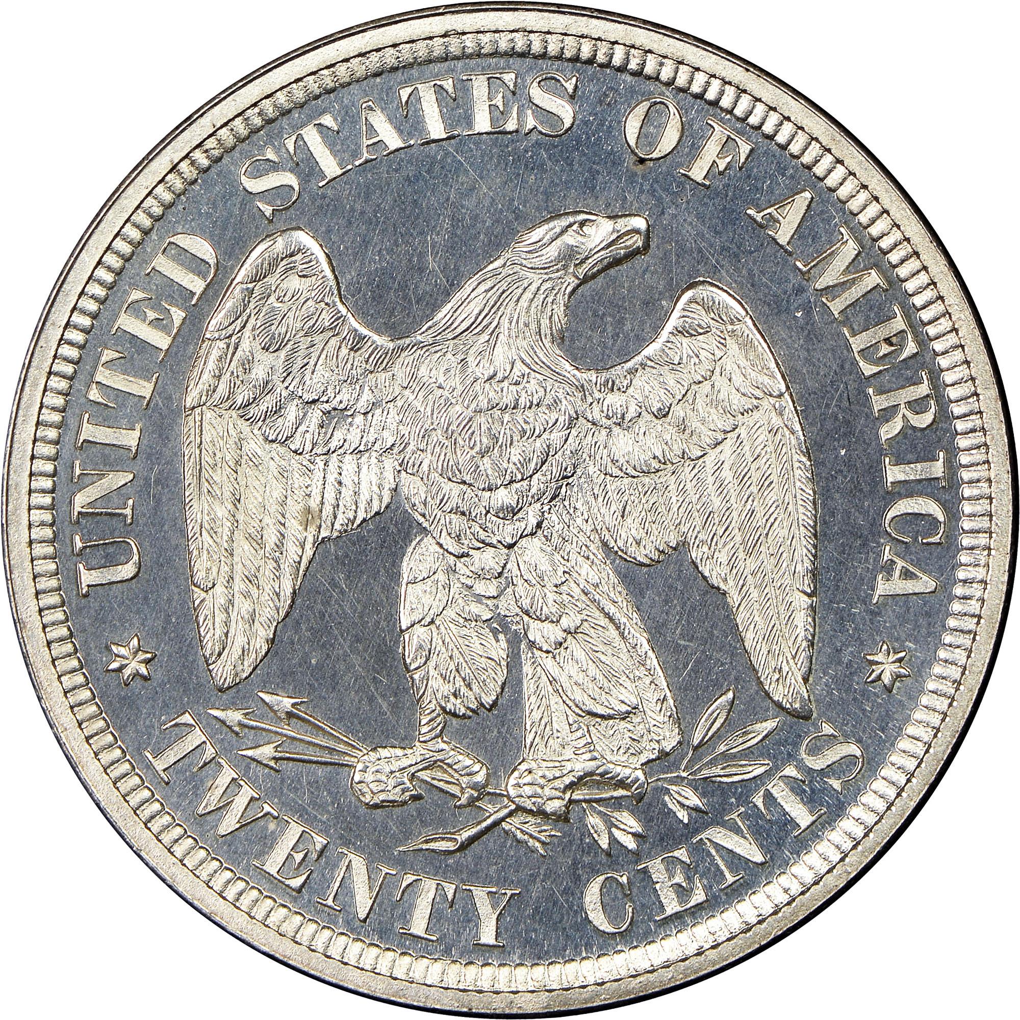 1878 20C PF Twenty Cents NGC
