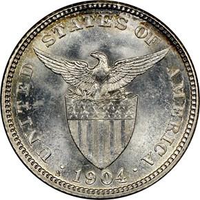 1904 S USA-PHIL 20C MS reverse