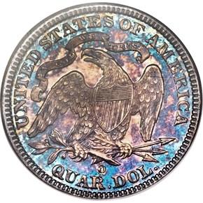 1891 O 25C SP reverse