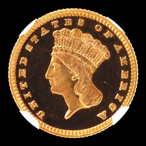 1888 G$1 PF obverse