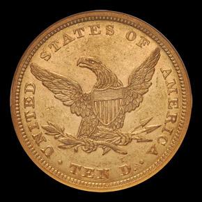 1843 $10 MS reverse