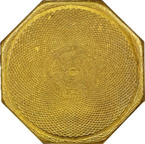 """1851 """"880"""" REEDED AUGUSTUS HUMBERT $50 MS reverse"""