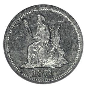 1871 J-1064 H10C PF obverse
