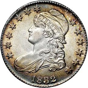 1832 50C MS obverse