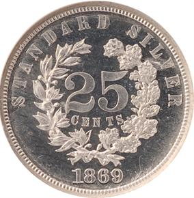 1869 J-726 25C PF reverse