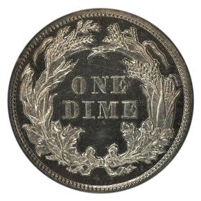 1871 J-1077 10C PF reverse