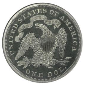 1871 J-1149 S$1 PF reverse