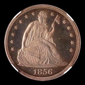 1856 S$1 PF obverse