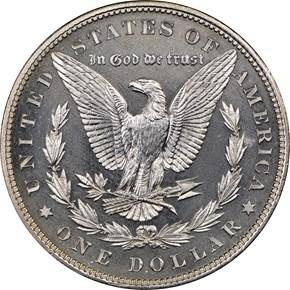1880 $1 PF reverse
